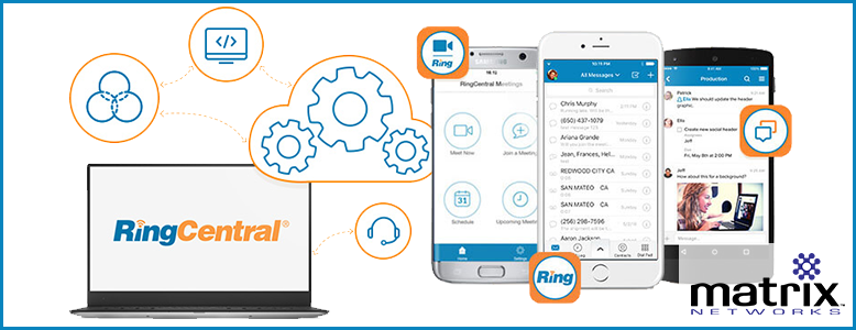 RingCentral cloud phone system - Matrix Networks, Portland Or