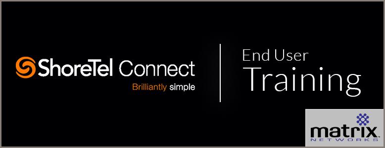 ShoreTel Connect End User Training from Matrix Networks - Portland Or, ShoreTel Support