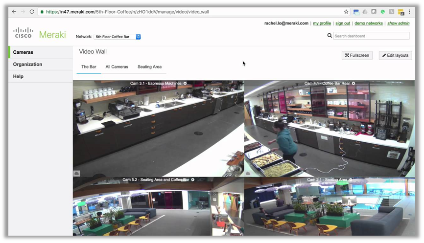 Meraki security cameras. Premier Partner out of Portland Oregon, Matrix Networks