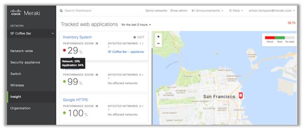 Meraki Firewall MX Dashboard - Matrix Networks Premier Cisco Partner Portland OR