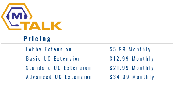 mTalk is a modern solution for office phones without the stress of big vendor mismanagement, providing a boutique experience at an affordable cost.