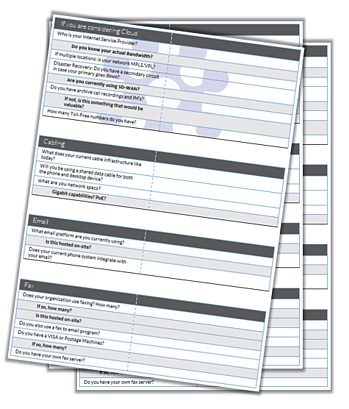 Unified Communications Checklist for Cloud Phone Systems and On-prem Phone Systems - Matrix Networks