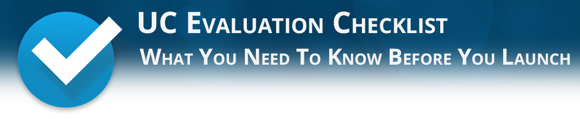 UC Evaluation Checklist from Matrix Networks