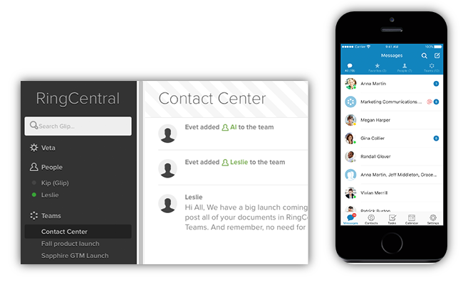 Work Together using RingCentral Glip Tool.png