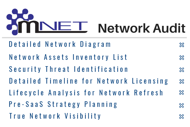 mNET Audit - have your network audited by professionals