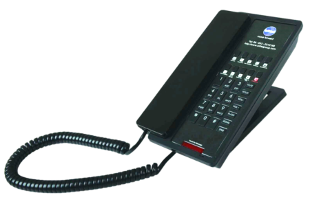 NEO guest room phones available from Matrix Networks