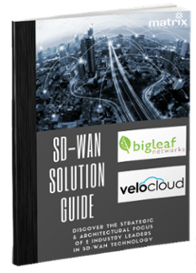 SD-WAN Education Whitepaper featuring Bigleaf Networks and VeloCloud